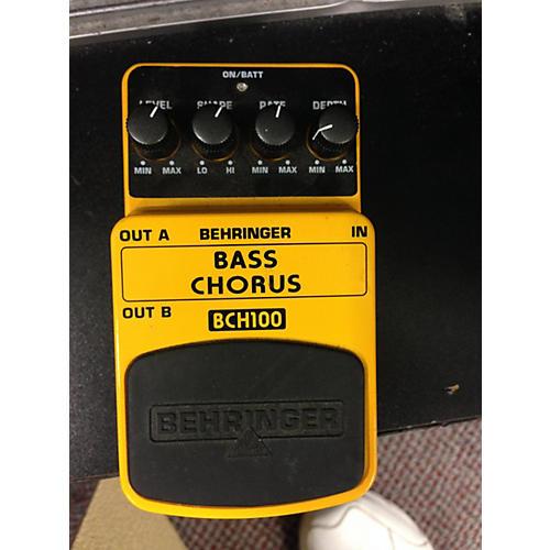 Behringer BCH100 Bass Effect Pedal-thumbnail
