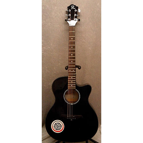 used b c rich bcr3tbk acoustic electric guitar guitar center. Black Bedroom Furniture Sets. Home Design Ideas