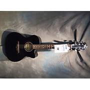 B.C. Rich BCR3TBK Acoustic Electric Guitar