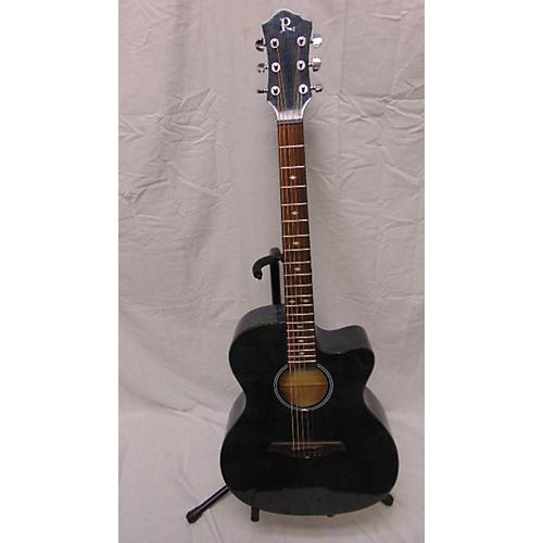 B.C. Rich BCR3TBK Acoustic Electric Guitar-thumbnail