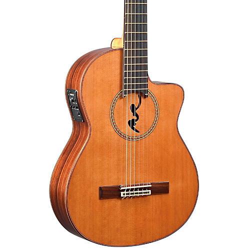 Manuel Rodriguez BCUT-U Boca Nylon-String Classical Acoustic-Electric Guitar