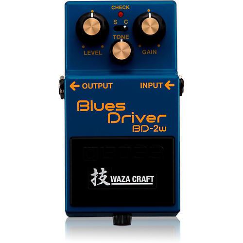Boss BD-2W Blues Driver Waza Craft Guitar Effects Pedal