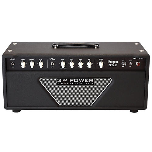 3rd Power Amps BD-AMP British Dream 38/18 Watt 2 Channel Tube Guitar Head-thumbnail