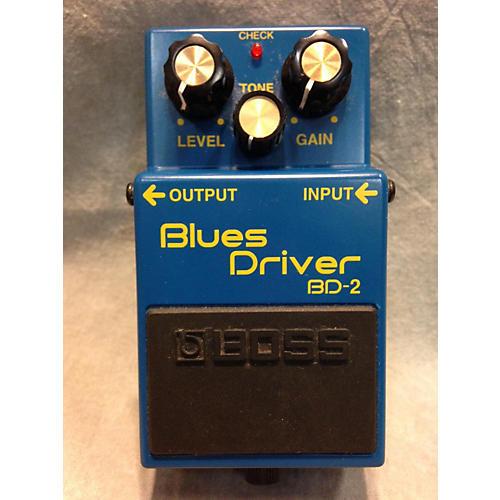 Boss BD2 Blues Driver BLUE Effect Pedal-thumbnail