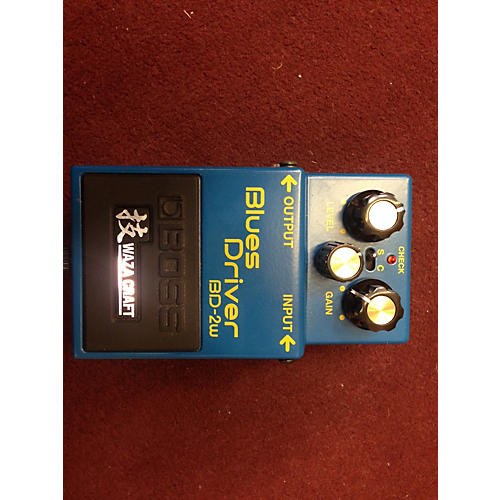 Boss BD2W Blues Driver Waza Craft Effect Pedal-thumbnail
