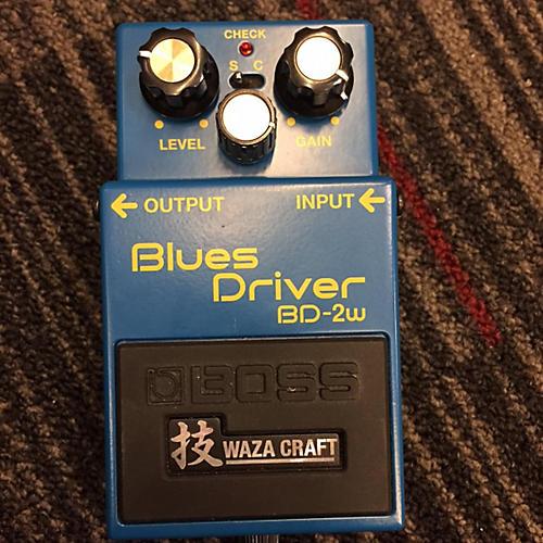 Boss BD2W Blues Driver Waza Craft Effect Pedal-thumbnail
