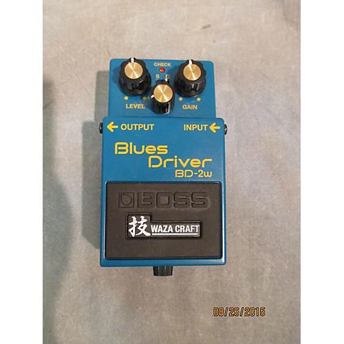 Boss BD2W Blues Driver Waza Effect Pedal
