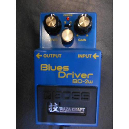 Boss BD2W Blues Driver Waza Effect Pedal-thumbnail