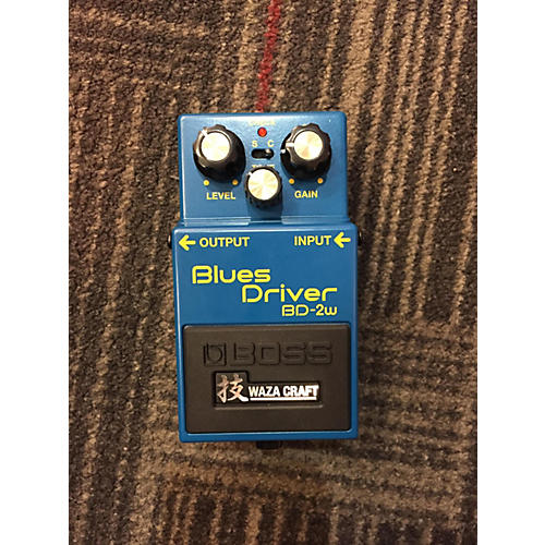 Boss BD2W Blues Driver Waza Effect Pedal-thumbnail