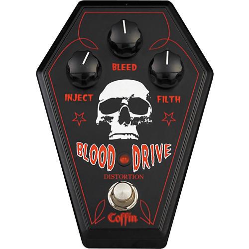 Coffin Case BDFX-1 Blood Drive Distortion Pedal-thumbnail