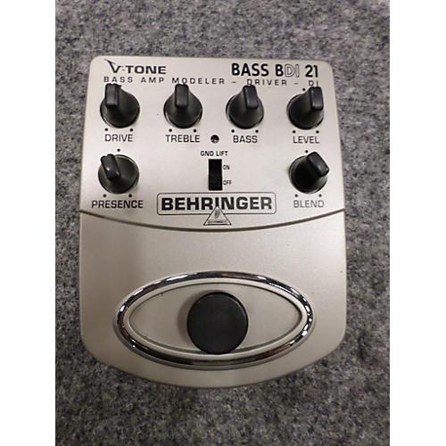 Behringer BDI21 V-Tone Bass Driver Bass Effect Pedal-thumbnail