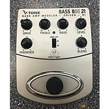 Behringer BDI21 V-Tone Bass Driver Bass Effect Pedal