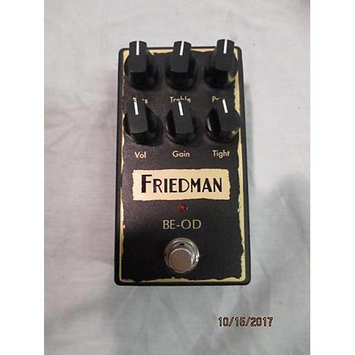 used friedman be od brown eye overdrive effect pedal guitar center. Black Bedroom Furniture Sets. Home Design Ideas