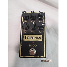 Friedman BE-OD BROWN EYE OVERDRIVE Effect Pedal