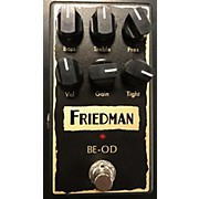 Friedman BE-OD OVERDRIVE Effect Pedal