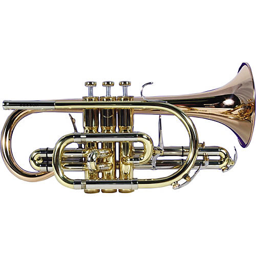 Besson BE928 Sovereign Series Bb Cornet Silver-thumbnail