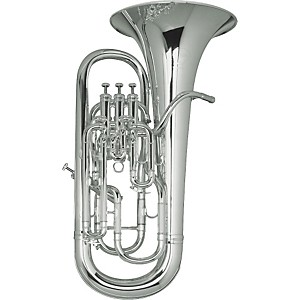 Besson BE967 Sovereign Series Silver Compensating Euphonium by Besson