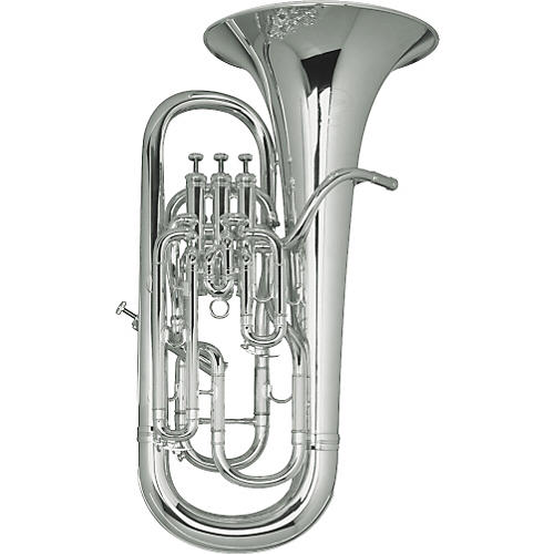 Besson BE967 Sovereign Series Silver Compensating Euphonium-thumbnail