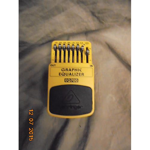 Behringer BEQ700 Graphic Equalizer Bass Effect Pedal-thumbnail