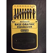 Behringer BEQ700 Graphic Equalizer Bass Effect Pedal
