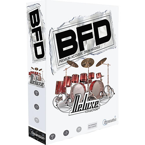 Fxpansion BFD Deluxe Collection Percussion Expansion Pack