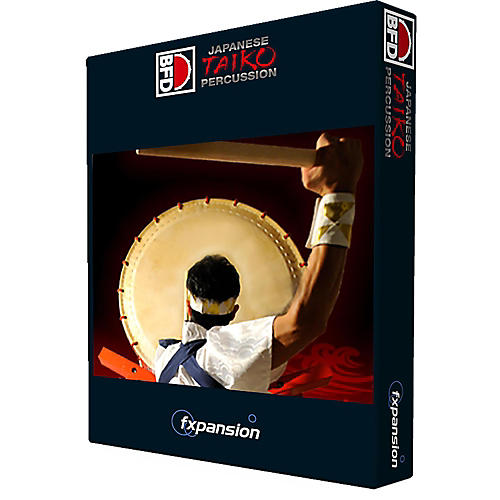 Fxpansion BFD Japanese Taiko Percussion-thumbnail
