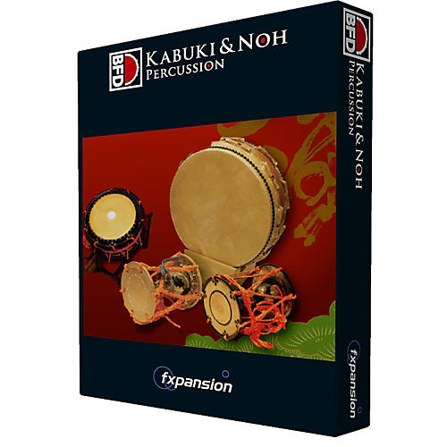 Fxpansion BFD Kabuki & Noh Percussion-thumbnail