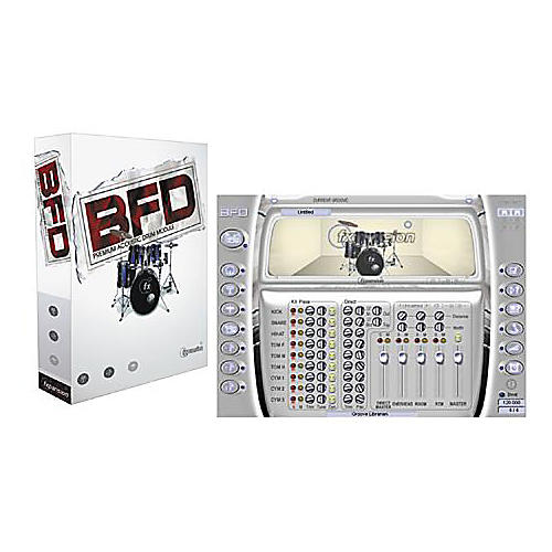 Fxpansion BFD Premium Acoustic Drum Module Plug-In DVD