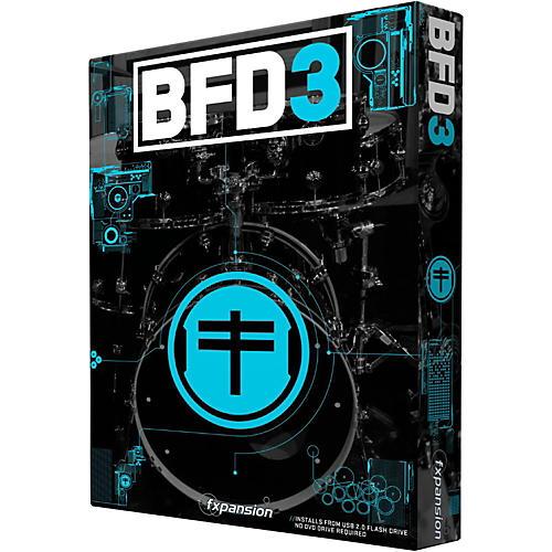 Fxpansion BFD3 Acoustic Drum Studio Virtual Instrument-thumbnail