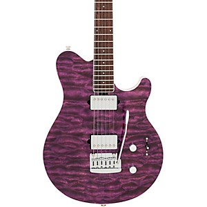 Ernie Ball Music Man BFR Axis Super Sport Quilt Top Electric Guitar by Ernie Ball Music Man