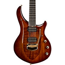 Ernie Ball Music Man BFR Majesty Koa Top with Autographed Back Plate and Bound Neck