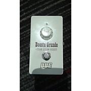 BBE BG20 Boosta Grande Effect Pedal