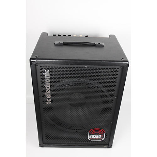 used tc electronic bg250 115 250w 1x15 bass combo amp guitar center. Black Bedroom Furniture Sets. Home Design Ideas