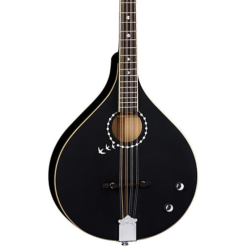 Luna Guitars BGBZ Moonbird Acoustic-Electric Bouzouki Satin Black