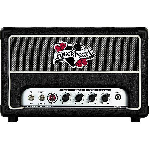 Blackheart BH5H Little Giant 5W 120V Tube Guitar Amp Head Black