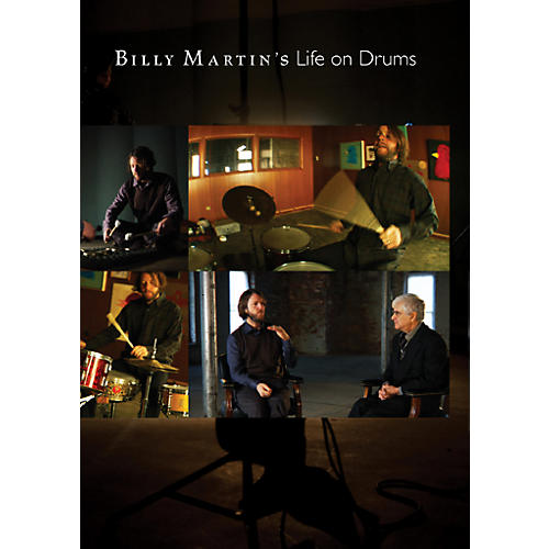 Alfred BILLY MARTINS LIFE ON DRUMS DVD-thumbnail