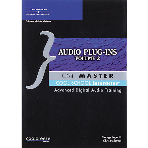 Course Technology PTR BK Audio Plug-Ins CSI Master Volume 2