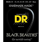 DR Strings BKB6-30 Black Beauty 6-String Bass Strings