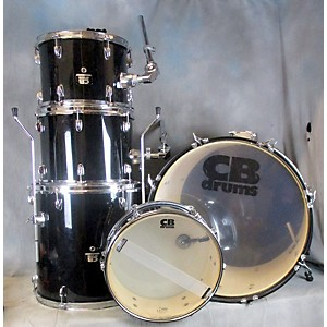 Pre-owned CB Percussion BLACK CB DRUMSET Drum Kit