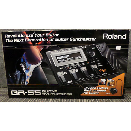 Roland BLACK GR55 WITH GK3 PICKUP Effect Processor
