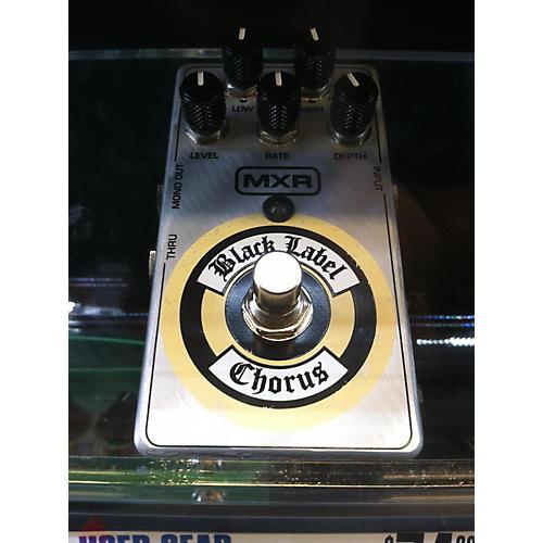 MXR BLACK LABEL CHORUS Effect Pedal-thumbnail
