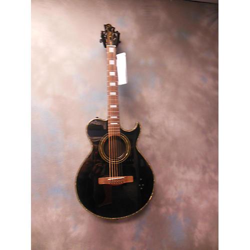 Greg Bennett Design by Samick BLACKBIRD Acoustic Electric Guitar-thumbnail
