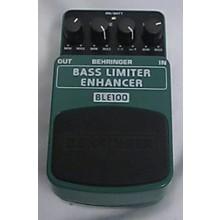 Behringer BLE100 BASS LIMITER ENHANCER Bass Effect Pedal