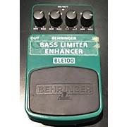 Behringer BLE100 Bass Effect Pedal