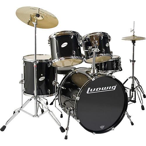 Ludwig BLEM Accent CS 5 Piece Power Drum Set LC225-thumbnail