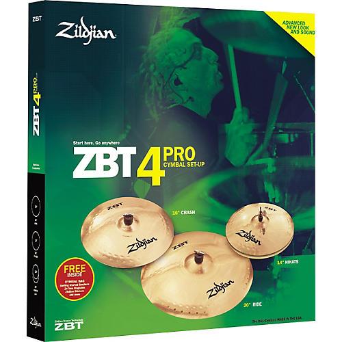Zildjian BLEM ZBT 4 Pro Pack Cymbals