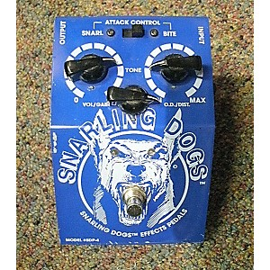 Pre-owned Snarling Dogs BLUE DOO Effect Pedal by Snarling Dogs