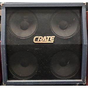 Pre-owned Crate BLUE VOODOO 4X12 Guitar Cabinet by Crate