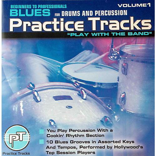 Practice Tracks BLUES DRUMS CD