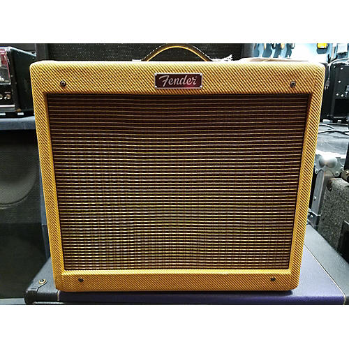 Fender BLUES JR LACQUERED TWEED Tube Guitar Combo Amp